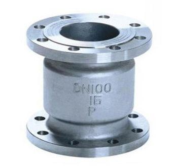 H42W不锈钢立式升降式止回阀