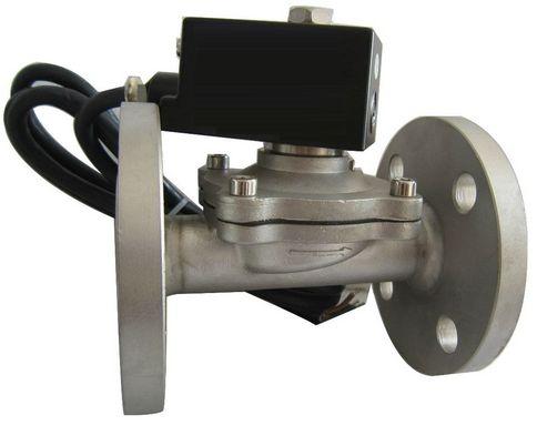 ZBSF型DN50~500法兰不锈钢活塞电磁阀
