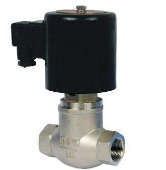 ZQDF型DN50~500内螺纹活塞式不锈钢电磁阀