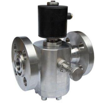 DHQC型DN50~500手动控制高压电磁阀