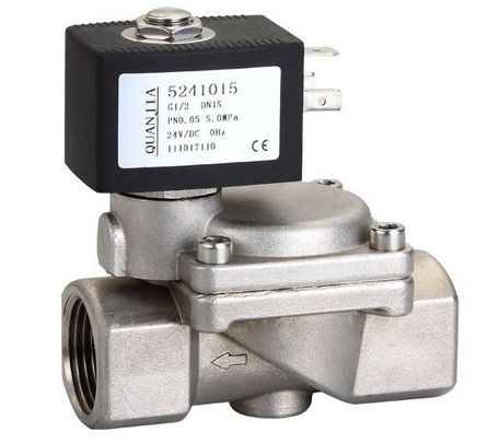 ZCS不锈钢先导式水用电磁阀