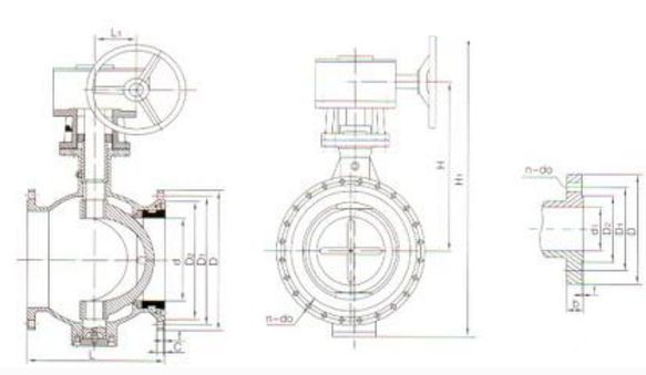 Q941F电动开关球阀结构图片