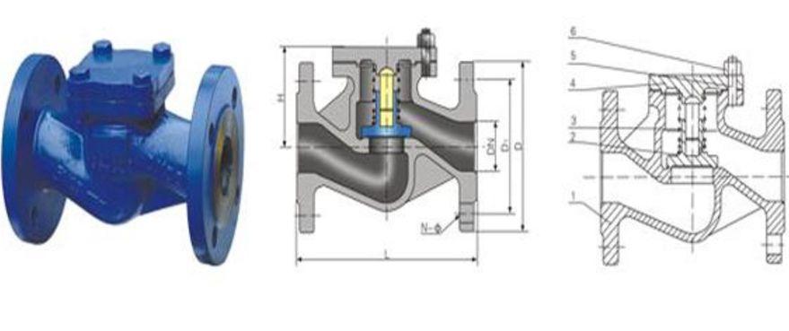 h41h德标升降式止回阀结构图片