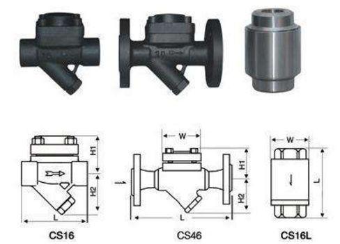 膜盒式蒸汽疏水阀实物图片